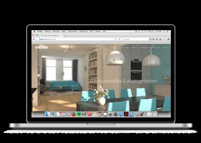 Homepage Knaan 3D-visualisaties & plattegronden (2016)