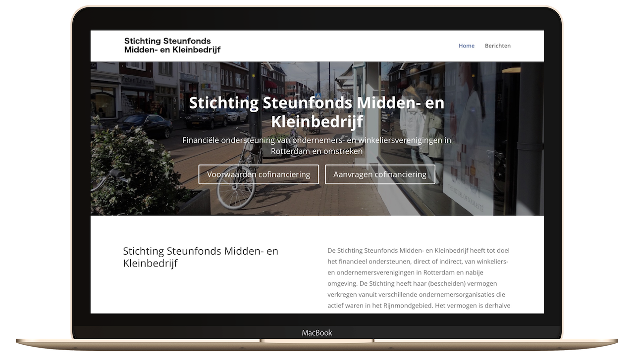 Website stichting