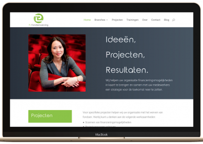 Website Fondsenwerving