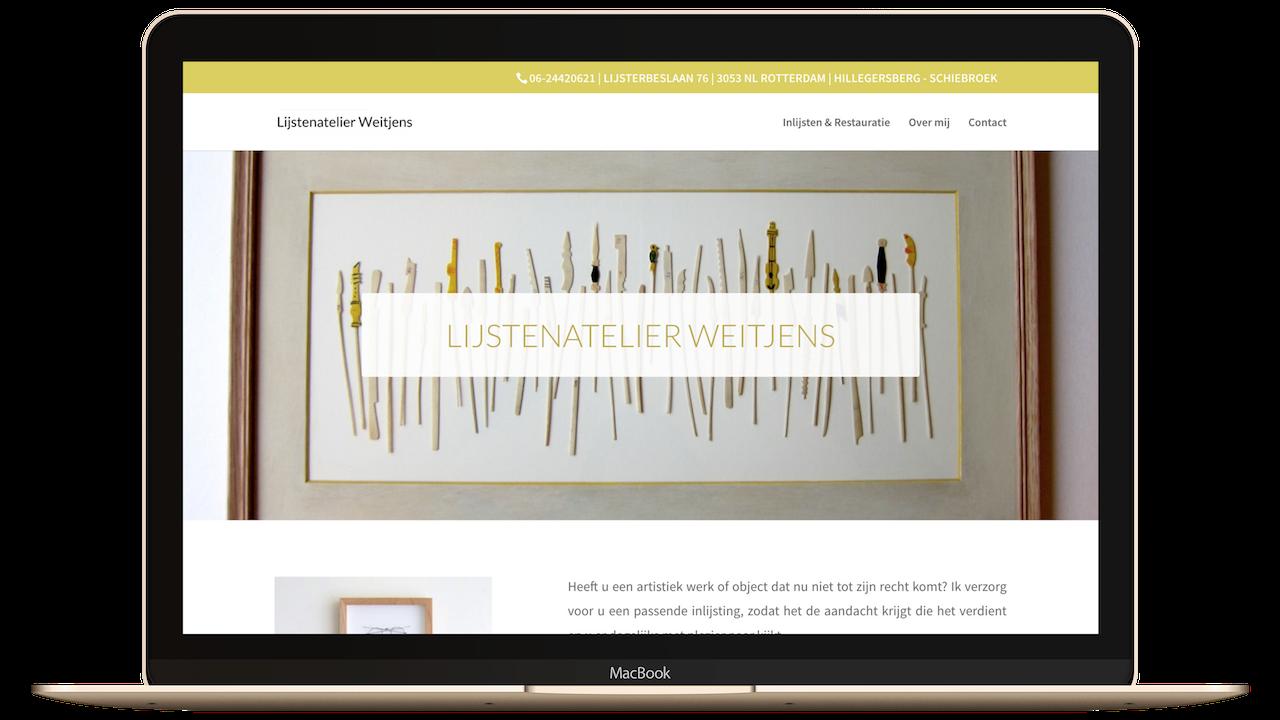 Website lijstenatelier