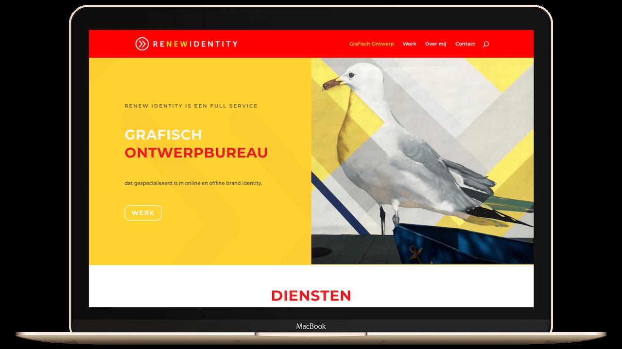 Website grafisch vormgever