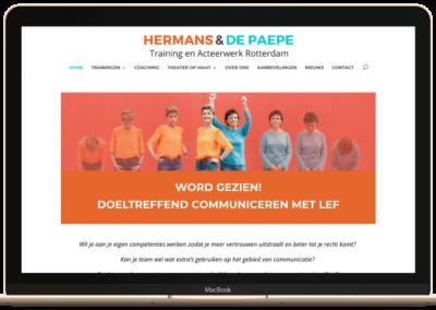 Website trainingsacteurs