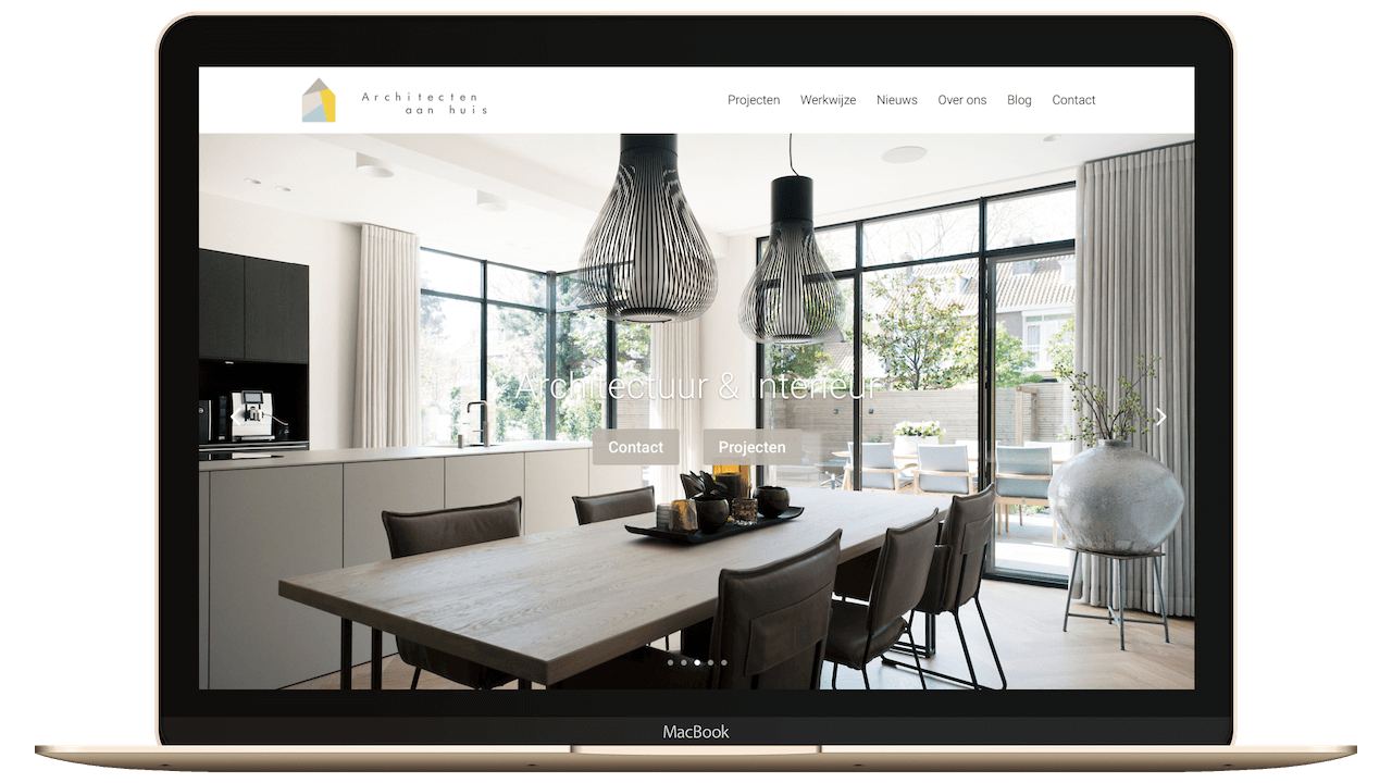 Website architectuur & interieur