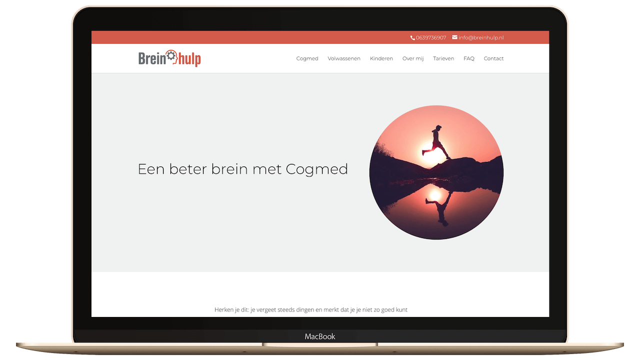 Website Cogmed coach