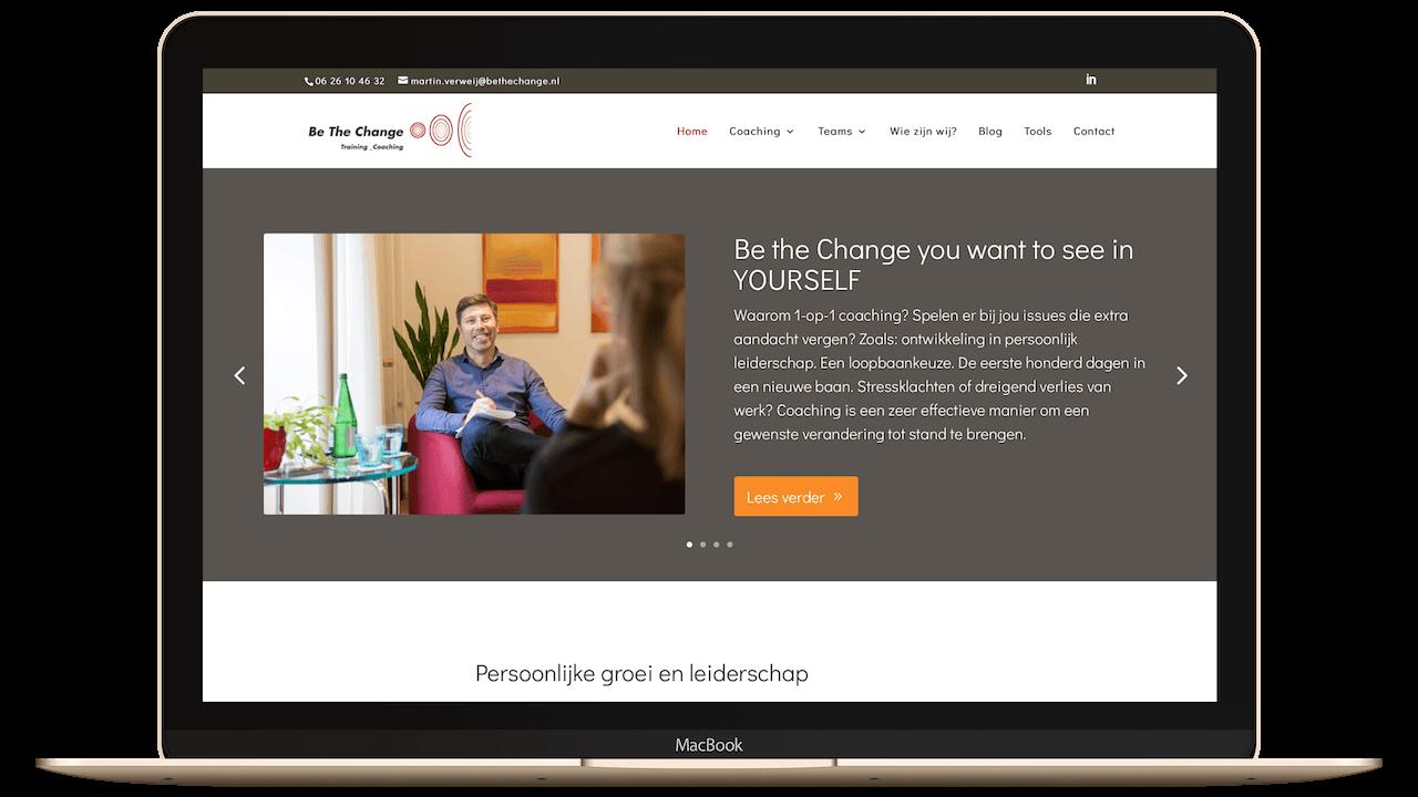 Website persoonlijke groei en leiderschap